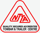 NTTA Accredited Towbar and Trailer Centre